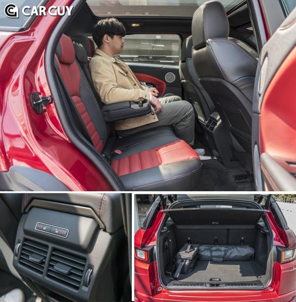[시승기]작아서 아름다운 소형 SUV 극치..레인지로버 이보크