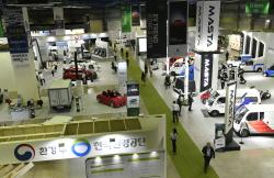 친환경차가 한자리에, 'EV 트렌드 코리아 2019' 코엑스에서 개막