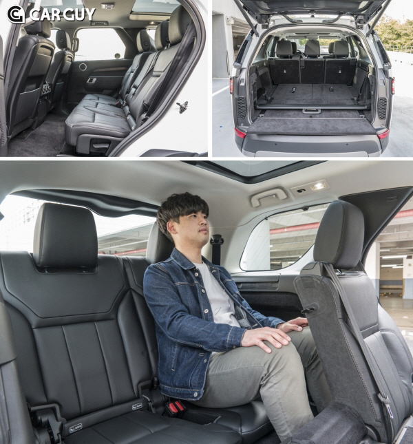 [시승기]대형 SUV 중 3열 최고..랜드로버 디스커버리