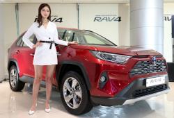 도요타 '라브4' 새로운 모습으로 한국 상륙