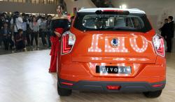 쌍용자동차 '베리 뉴 티볼리'의 뒷모습