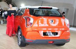 쌍용자동차 '베리 뉴 티볼리'의 뒷라인