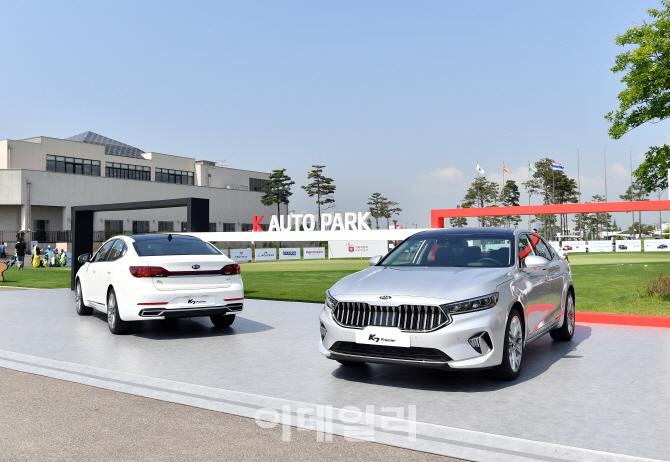 `그랜저 잡는다`…기아차 'K7 프리미어' 5가지 엔진 출격