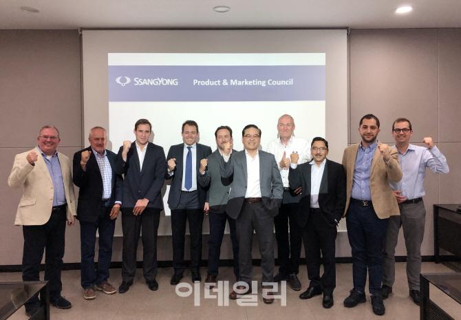 `수출 확대하자`..쌍용차, 글로벌 제품 마케팅 협의회 개최