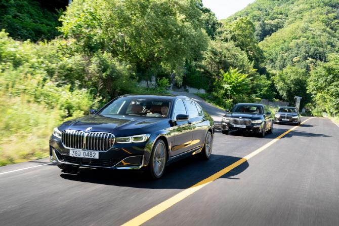 "BMW 플래그십 '뉴7시리즈' 공개..""럭셔리 클래스 키운다"""