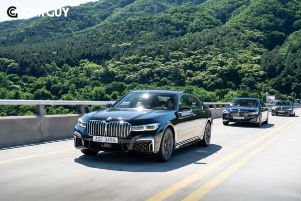 [시승기]S클래스 한번 붙어보자..BMW THE 7시리즈