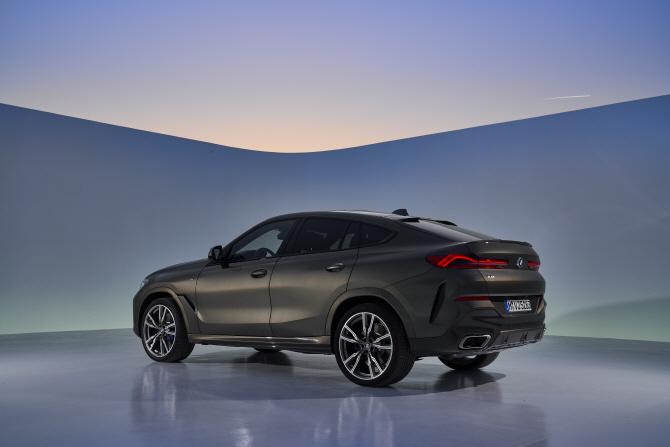 BMW, 얼굴 바꾼 3세대 `X6`…`더 커지고 넓어졌다`