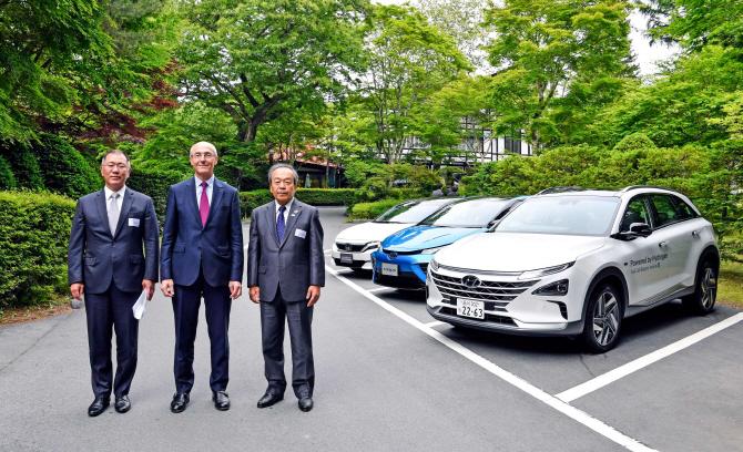 정의선 현대차 수석부회장 일본 방문…수출 규제 해법 모색(종합)
