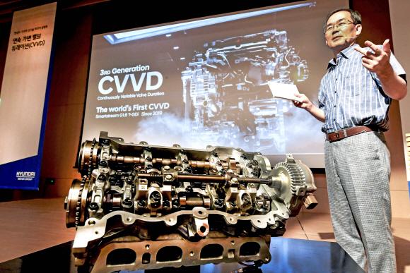 현대차, 신형 쏘나타 터보에 들어갈 CVVD 엔진 美서도 생산