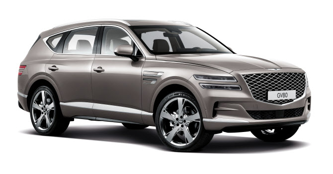 제네시스, 첫 SUV 'GV80' 출시 '가격은?'