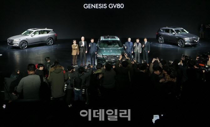 제네시스 SUV 'GV80'