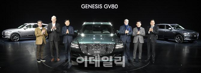 제네시스 GV80 3.0 디젤 출시...6580만원부터
