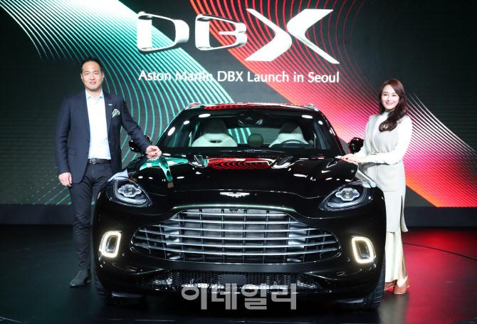 [포토]애스터마틴 최초 SUV 모델 `DBX` 출시, 2억 4,800만원