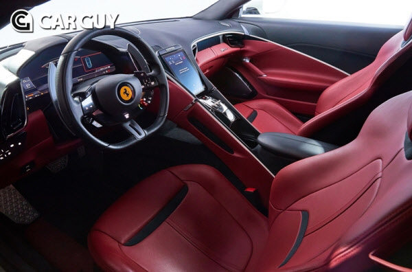 페라리 디자인 틀 깬 새로운 8기통 GT '로마' 출시