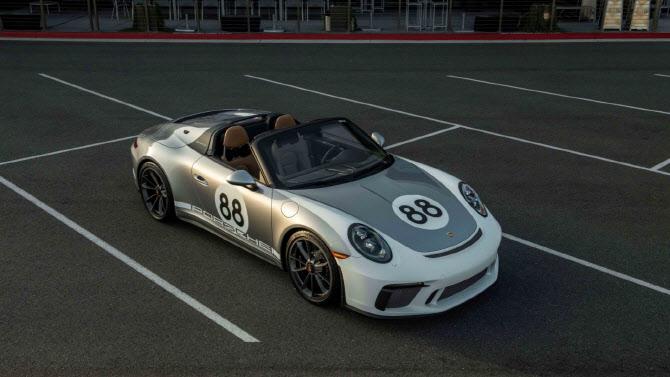 포르쉐 '911 스피드스터', 강력한 성능