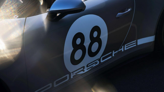 포르쉐 '911 스피드스터', 6단 수동변속기 탑재