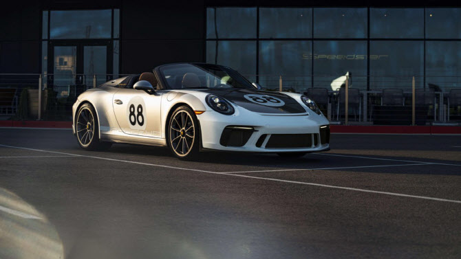 포르쉐 '911 스피드스터', 최고속도 310km/h