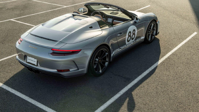 포르쉐 '911 스피드스터', 한정판 모델