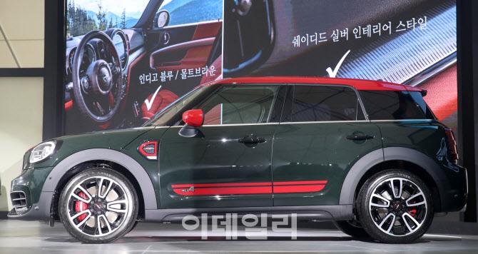 한국에서 전세계 최초 공개된 '뉴 미니 컨트리맨'
