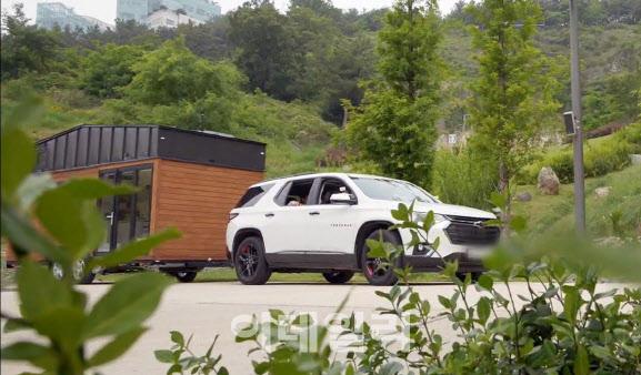 tvN `바퀴 달린 집`에 나온 대형 SUV의 정체는?