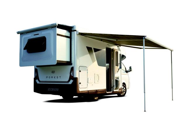 현대차 포터 캠핑카로 변신…'포레스트' 4899만원부터