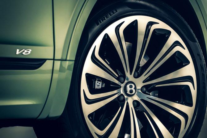 벤틀리 '2021 벤테이가', 타이어 휠