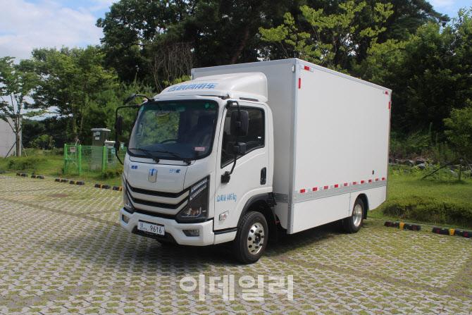 中 지리상용차 전기트럭 'E200' 韓 출시 '잰걸음'