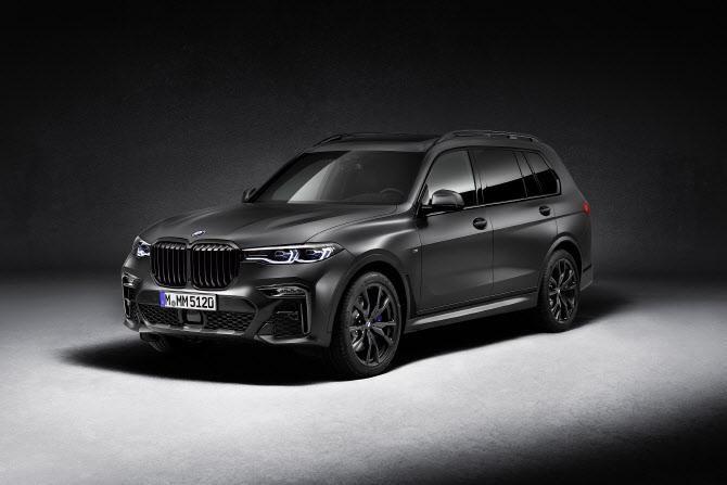 BMW 'X7 다크 쉐도우 에디션', 최대토크 76.53kg.m