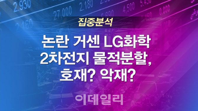 [이슈타임]논란 거센 LG화학 2차전지 물적분할, 호재? 악재?