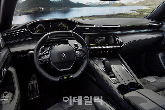 고성능 플러그인 하이브리드 '푸조 508 PSE' 공개