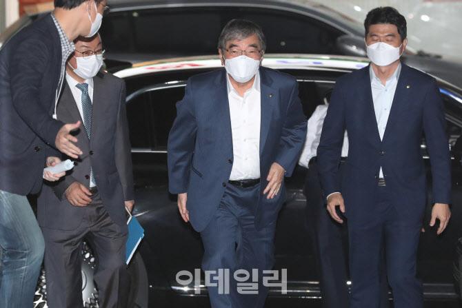 [포토]윤석헌 금융감독원장, 은행장 간담회