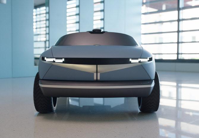 현대자동차그룹, '45' 디자인 활용 어린이 전동차 공개