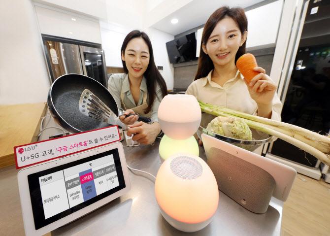 LG U+, '구글 홈IoT' 품은 5G 요금 패키지 출시