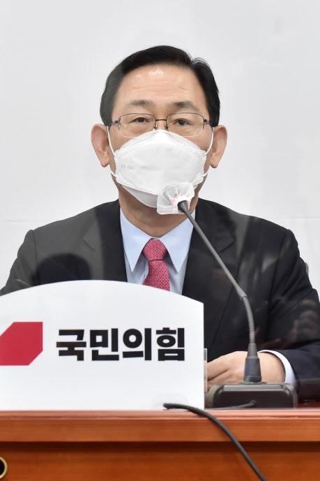 """주호영, 공수처법 개정하려는 與에 """"부동산 3법처럼 실패할 것"""""""