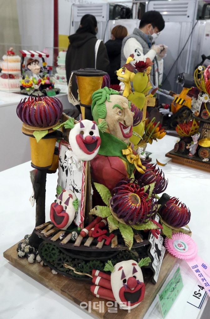 [포토]'화려한 설탕공예 작품'