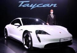 포르쉐코리아, 최초 순수 전기 스포츠카 '타이칸 4S' 선보여