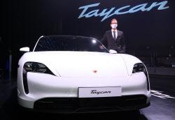 '타이칸 4S'의 앞모습