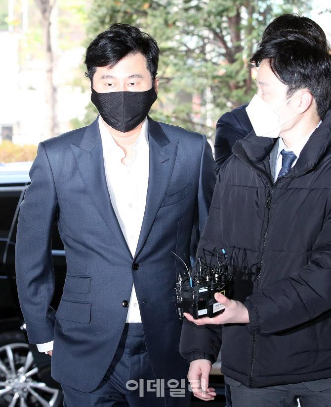 [포토]양현석 전 YG엔터테인먼트 대표 프로듀서, '묵묵부답'