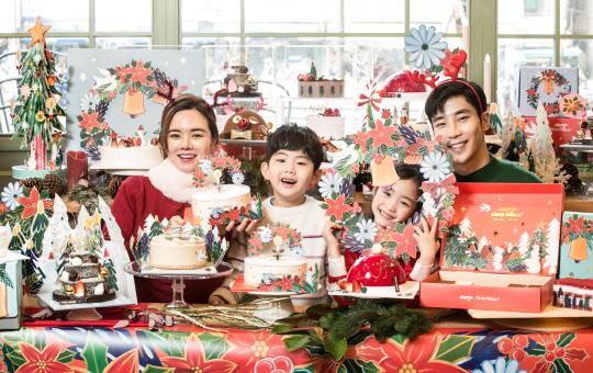 뚜레쥬르, 크리스마스 홈 파티 장식 '행복이 꽃피는 리스' 선봬