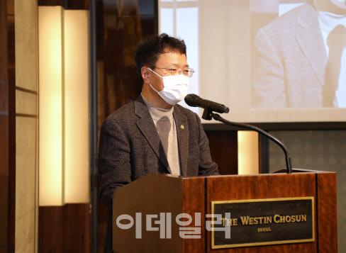 [포토]김용래 특허청장, '지식재산 전략 정책발표회' 참석