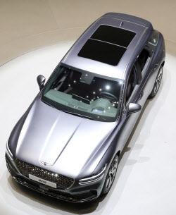현대차, 도심형 럭셔리 SUV '제네시스 GV70' 공개