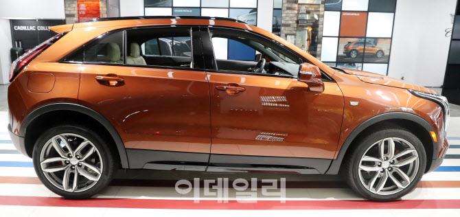 캐딜락, 럭셔리 SUV 'XT4' 한국 상륙…5531만원