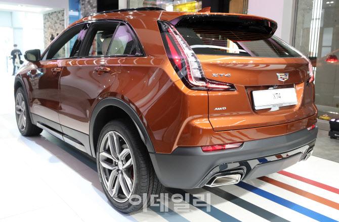 캐딜락코리아, 컴팩트 SUV 'XT4' 스포츠 단일 트림 출시