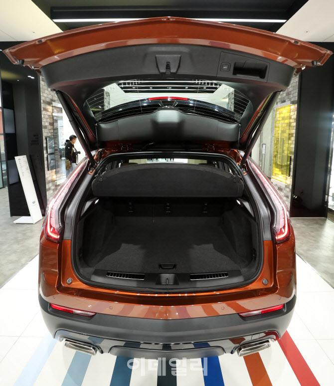 캐딜락코리아, 컴팩트 SUV 'XT4' 트렁크