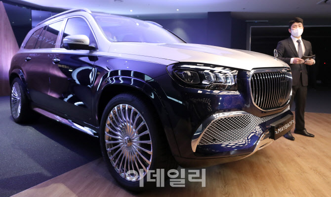 가장 비싼 벤츠 SUV '마이바흐 GLS' 출시…가격 2억5660만원