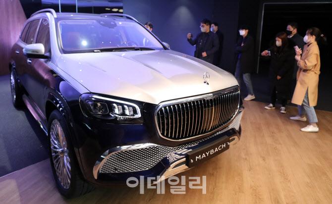 '마이바흐 GLS' 한국 상륙··· 가격 2억5660만원