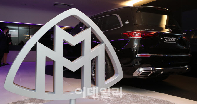 벤츠, 최상위 럭셔리 SUV '더 뉴 메르세데스-마이바흐 GLS' 선보여