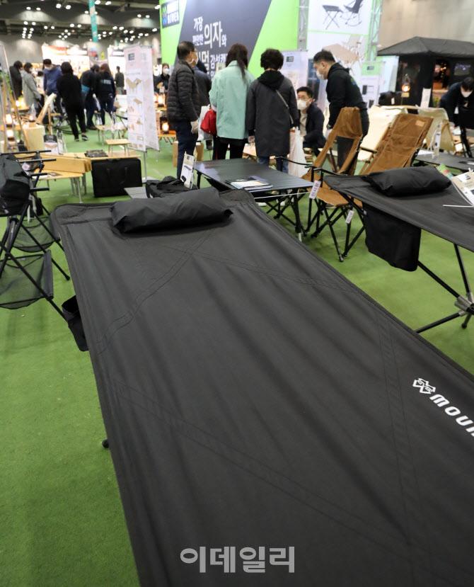 다양한 캠핑 용품이 한자리에 '2021 캠핑&피크닉 페어'
