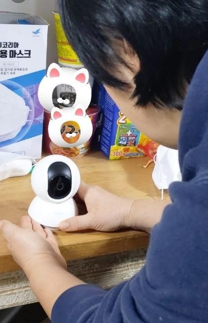 용인시 취약계층 '가정용 홈카메라' 지원