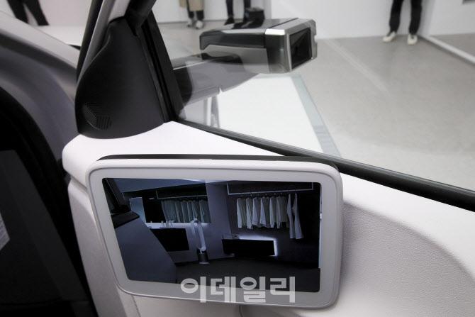 아이오닉5 카메라형 사이드미러